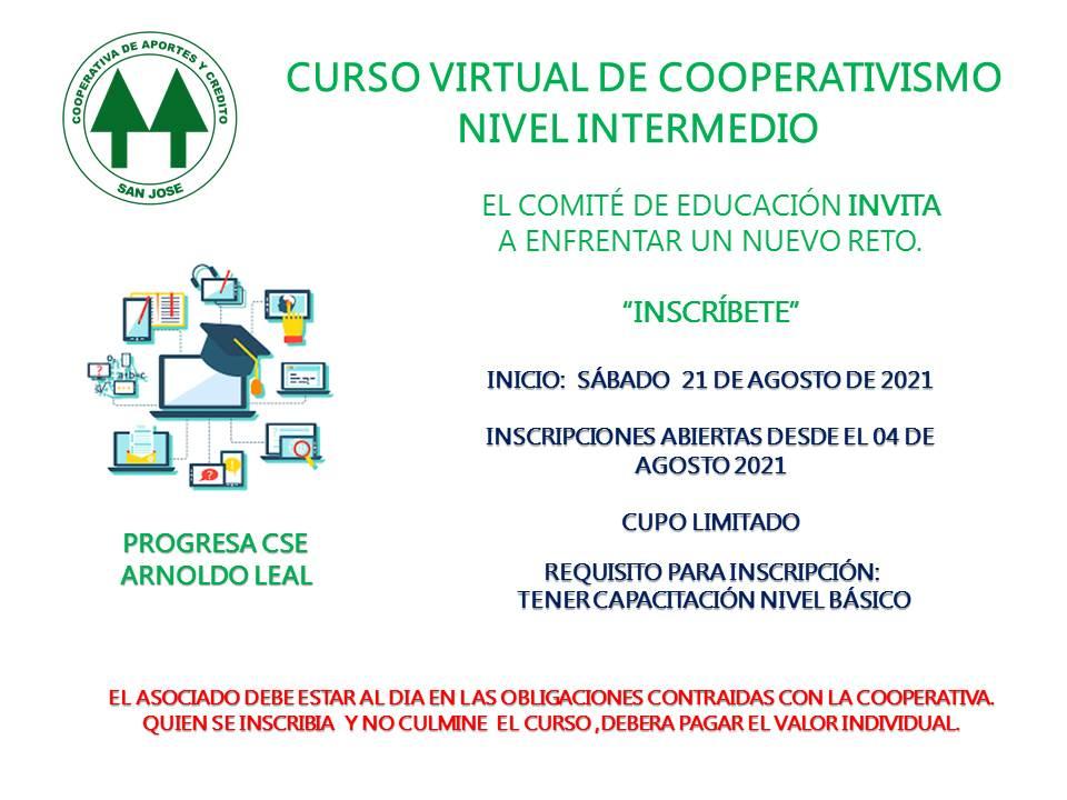 CURSO INTERMEDIO